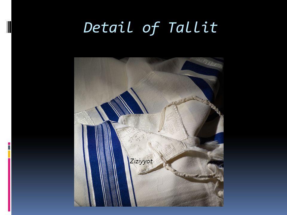Detail of Tallit Ziziyyot