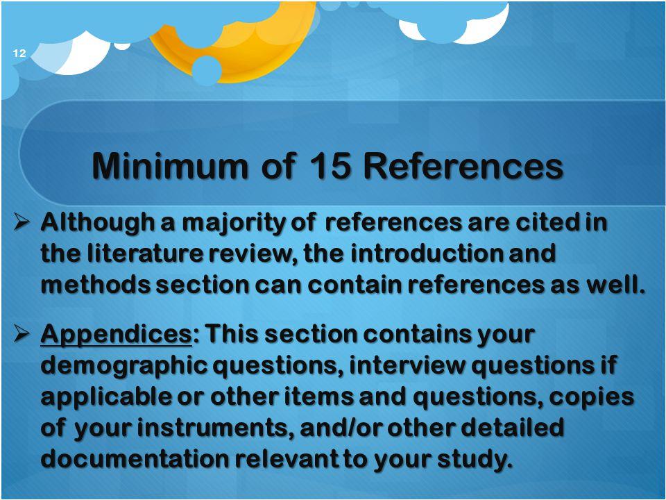 Literature Review Methods
