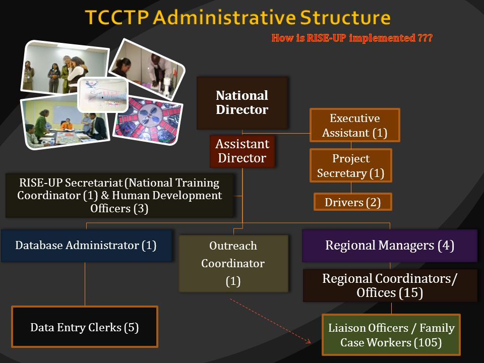 TCCTP Administrative Structure