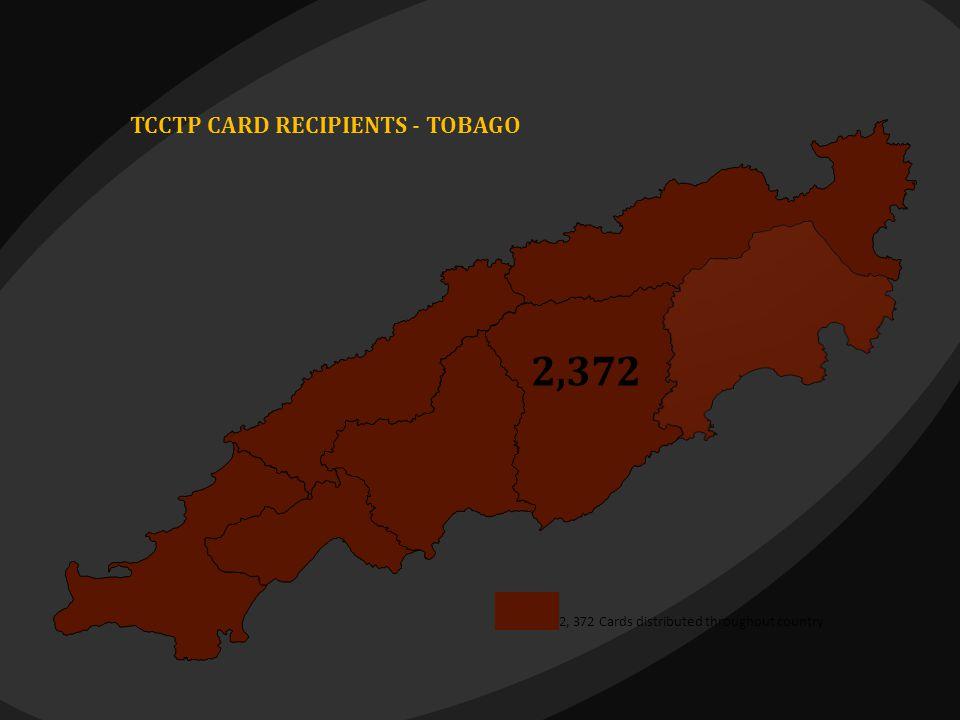 2,372 2,372 TCCTP CARD RECIPIENTS - TOBAGO 2