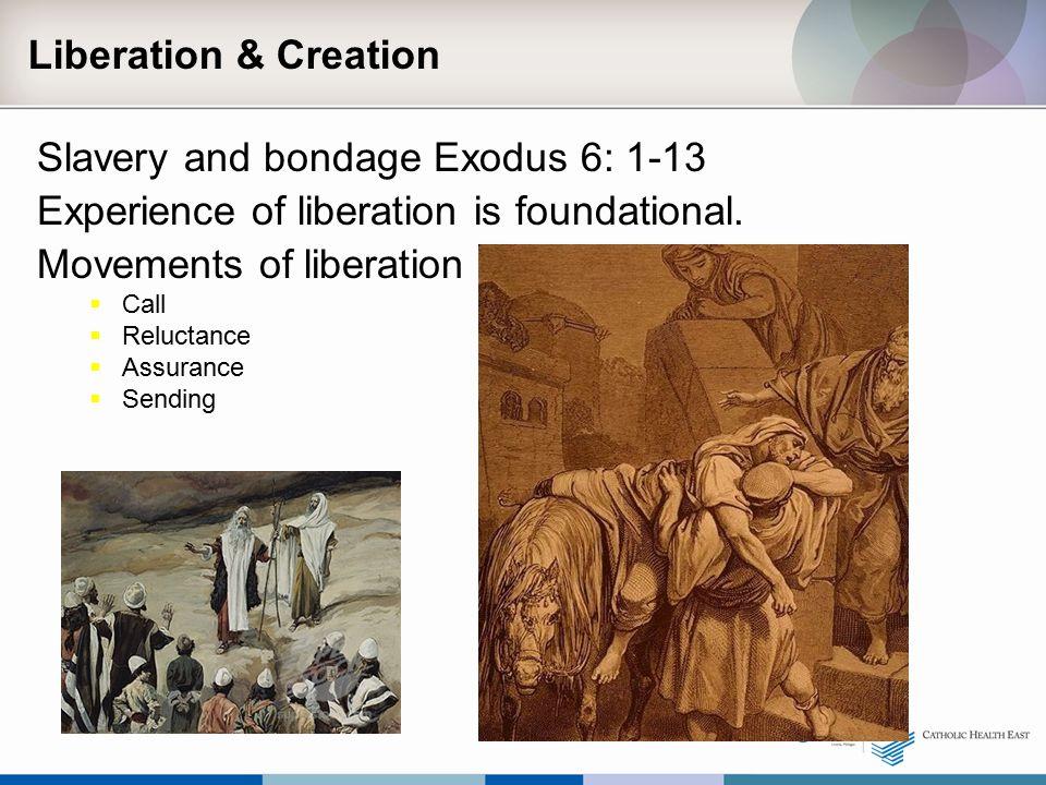 Slavery and bondage Exodus 6: 1-13