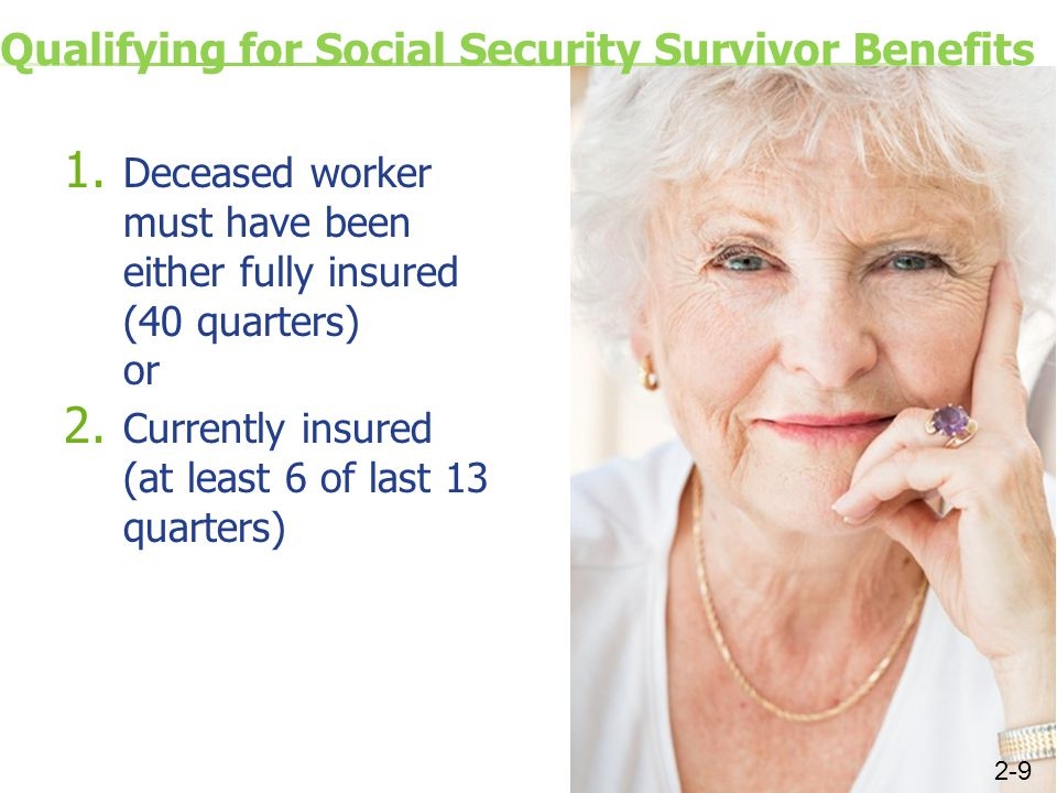 Qualifying for Social Security Survivor Benefits