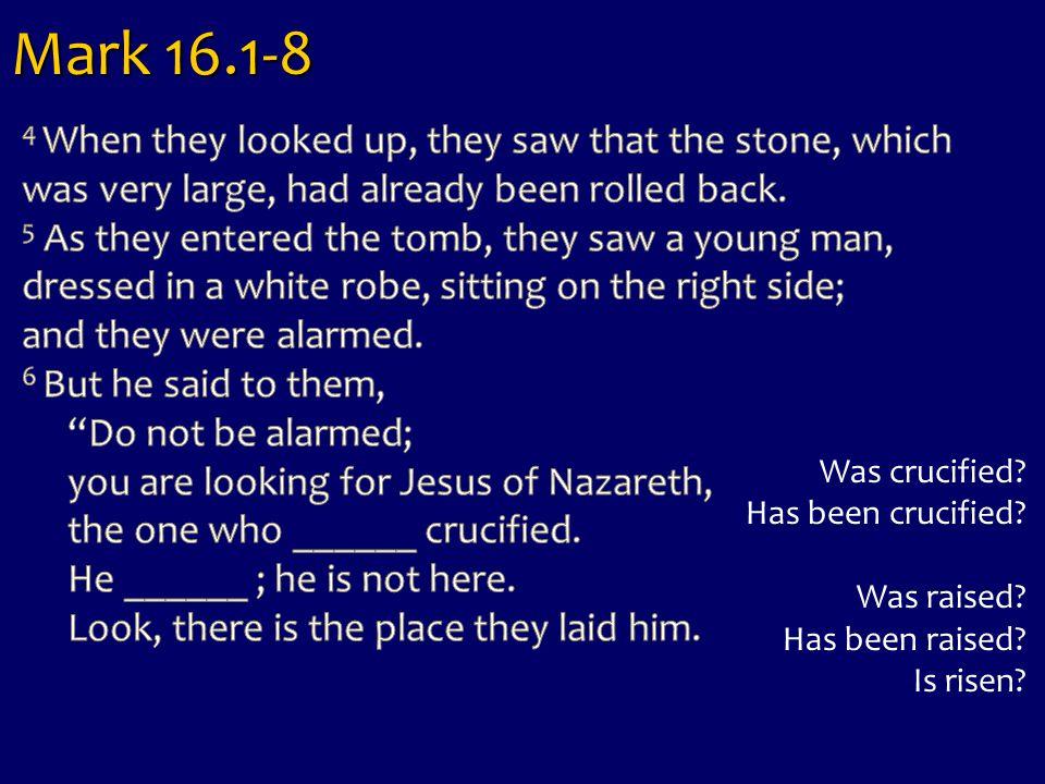 Mark 16.1-8
