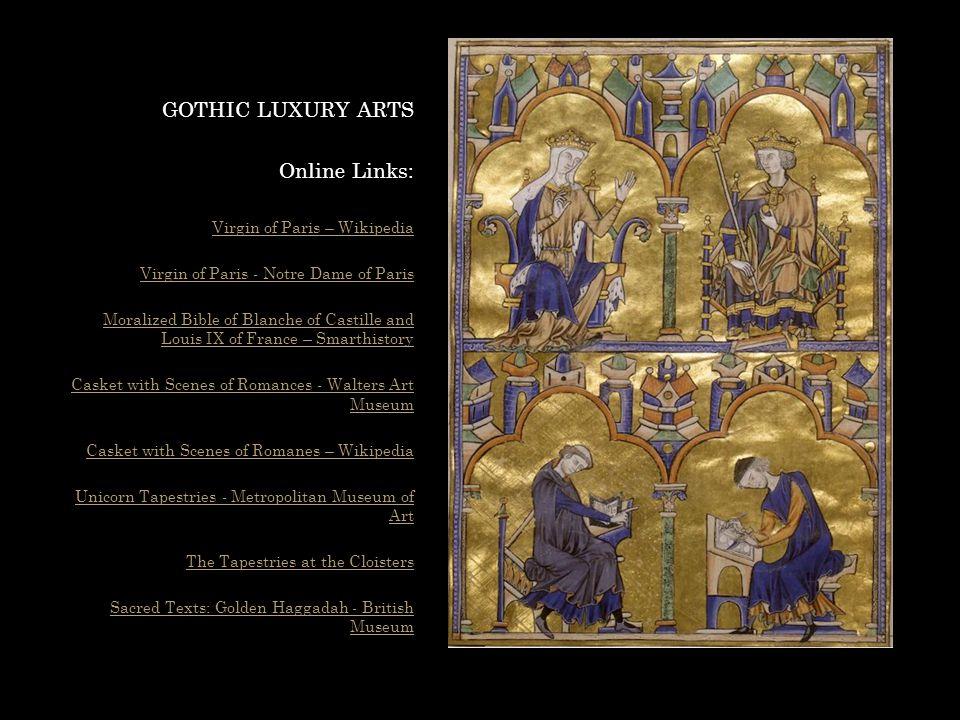 GOTHIC LUXURY ARTS Online Links: Virgin of Paris – Wikipedia