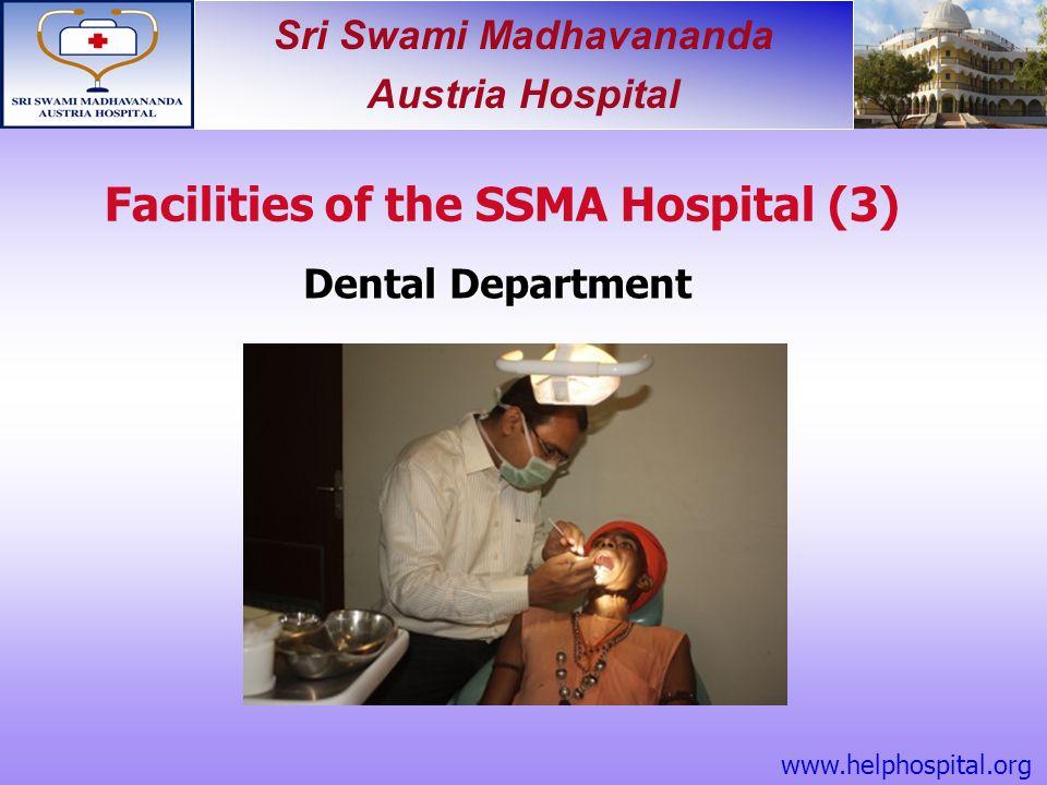 Facilities of the SSMA Hospital (3)