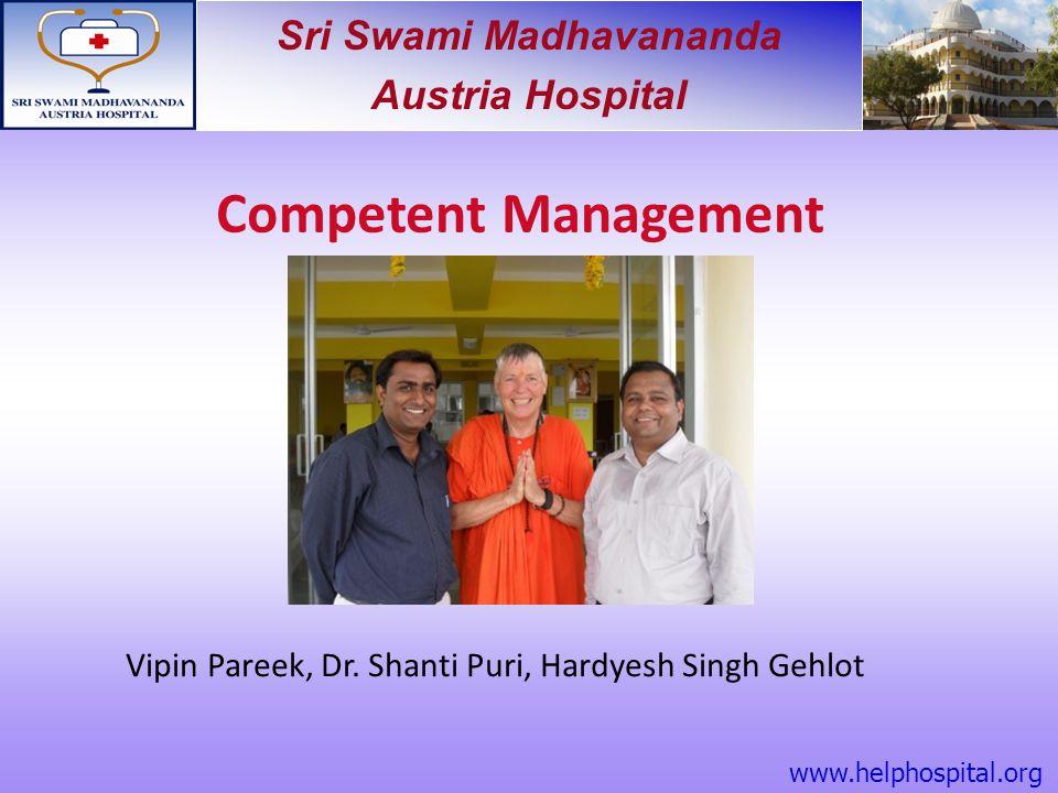 Vipin Pareek, Dr. Shanti Puri, Hardyesh Singh Gehlot