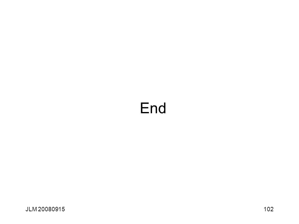 End JLM 20080915