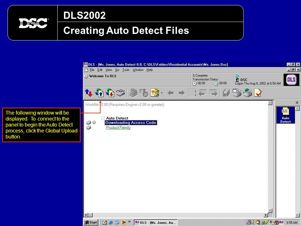 Creating Auto Detect Files