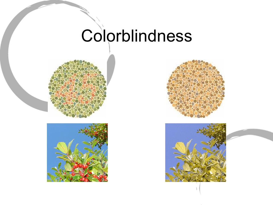 Colorblindness