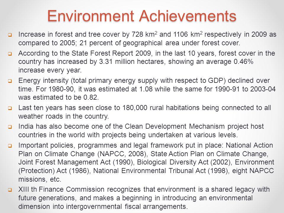 Environment Achievements