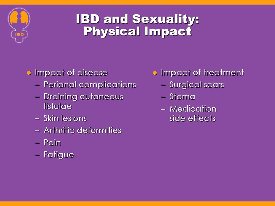 IBD and Sexuality: Physical Impact