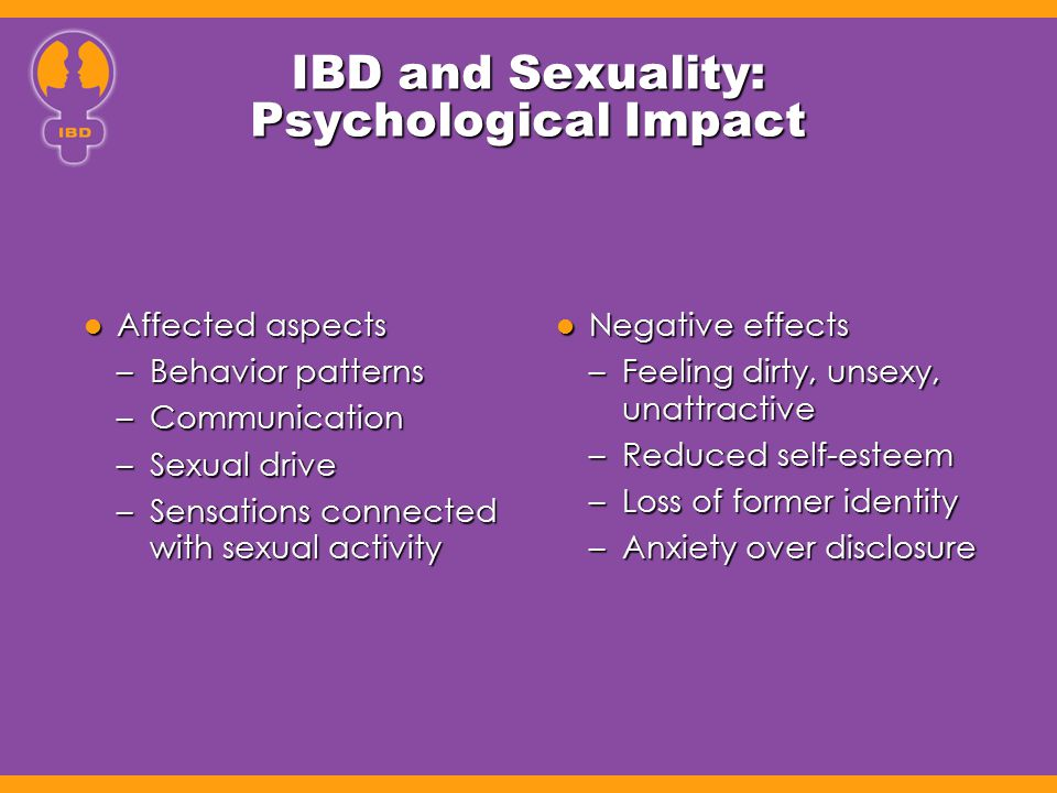 IBD and Sexuality: Psychological Impact