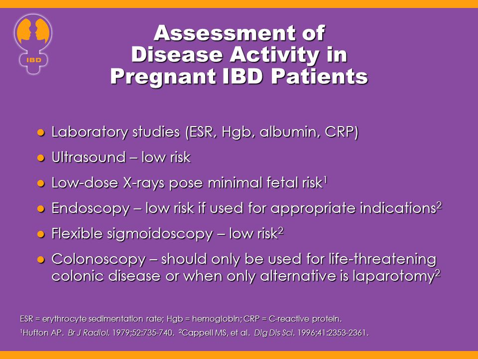 Assessment of Disease Activity in Pregnant IBD Patients