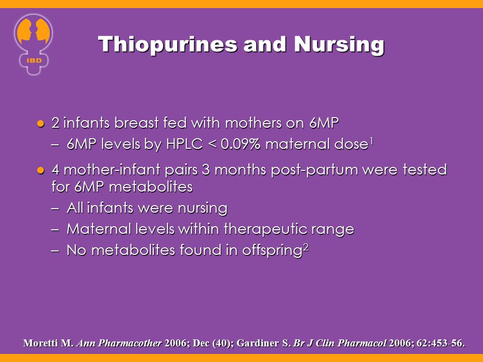 Thiopurines and Nursing