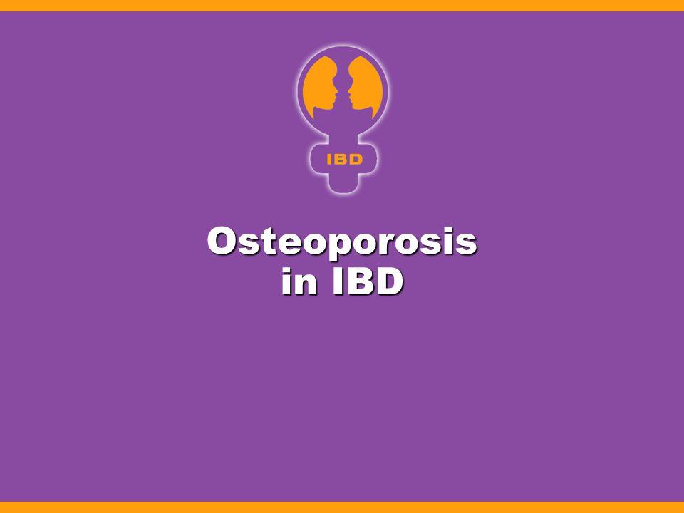 Osteoporosis in IBD
