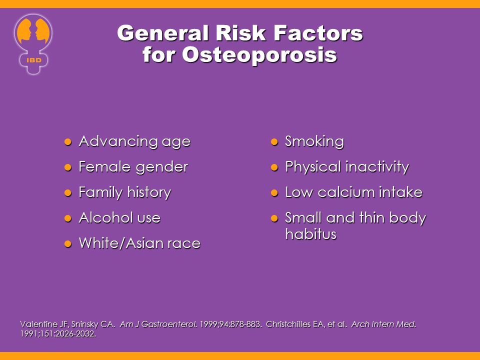 General Risk Factors for Osteoporosis