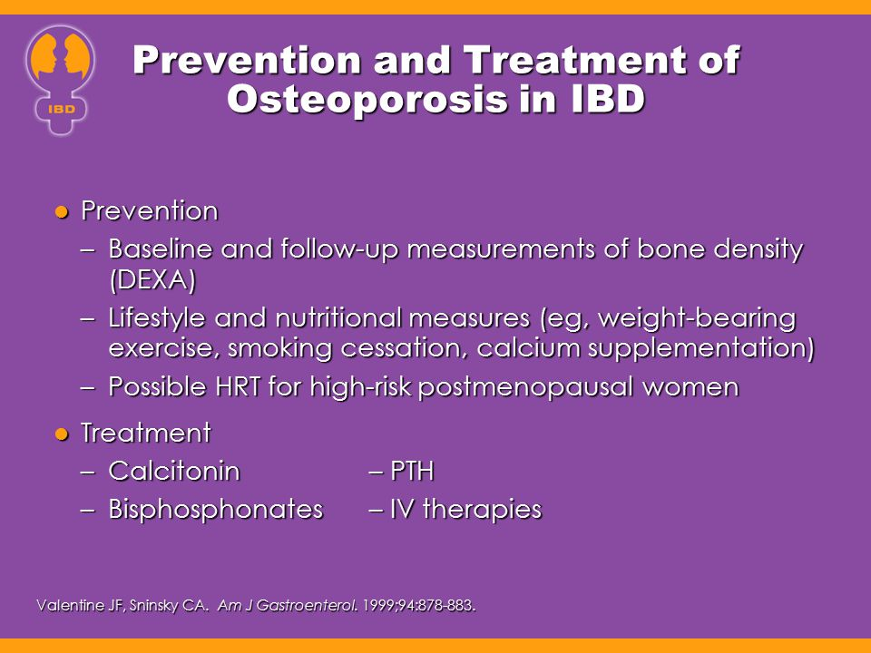 Prevention and Treatment of Osteoporosis in IBD
