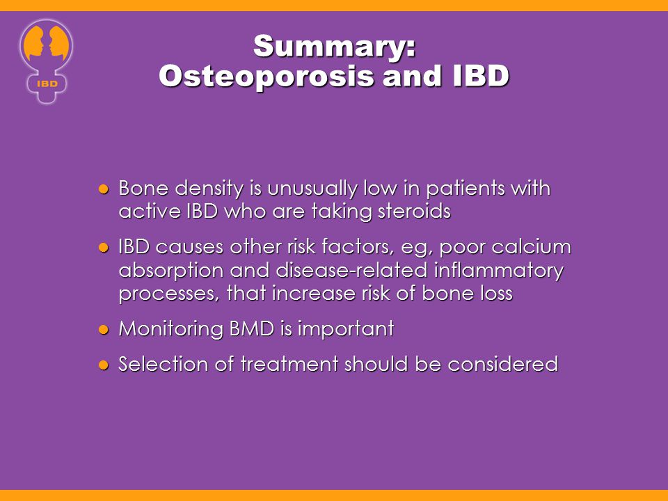 Summary: Osteoporosis and IBD