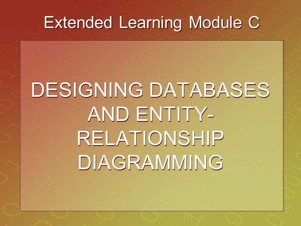 Extended Learning Module C