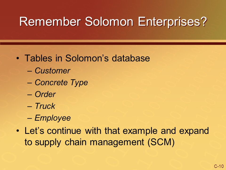 Remember Solomon Enterprises