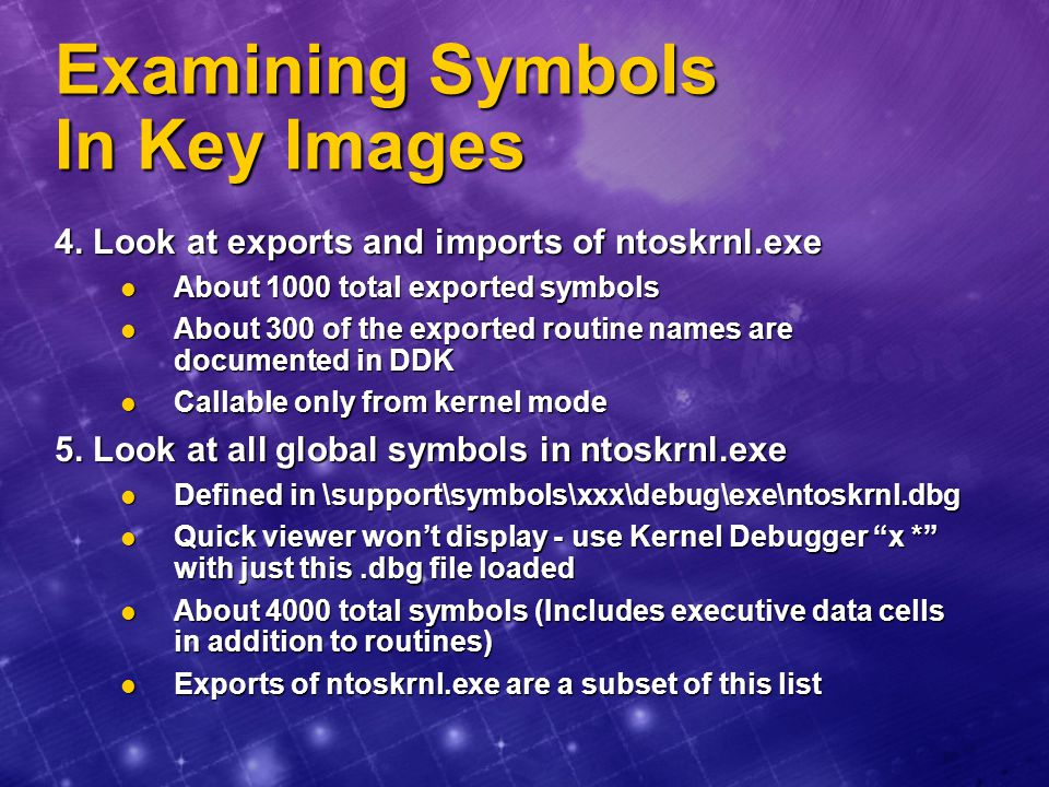 Examining Symbols In Key Images