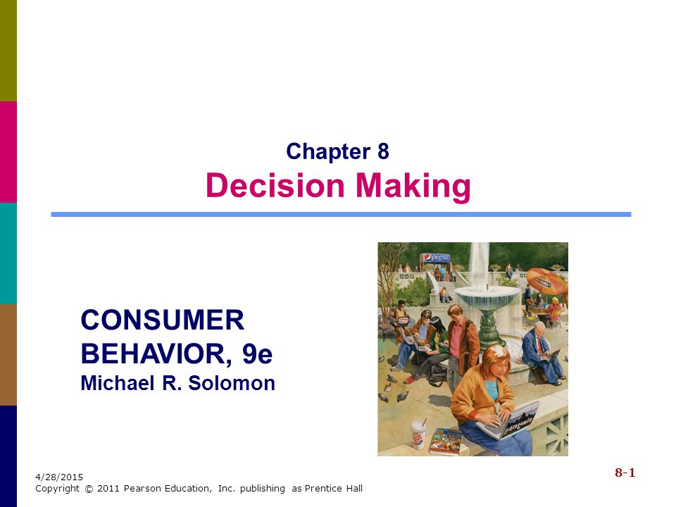 Chapter 8 Decision Making