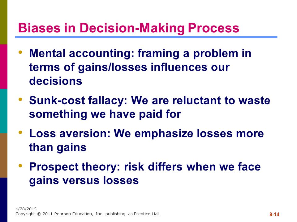 Biases in Decision-Making Process
