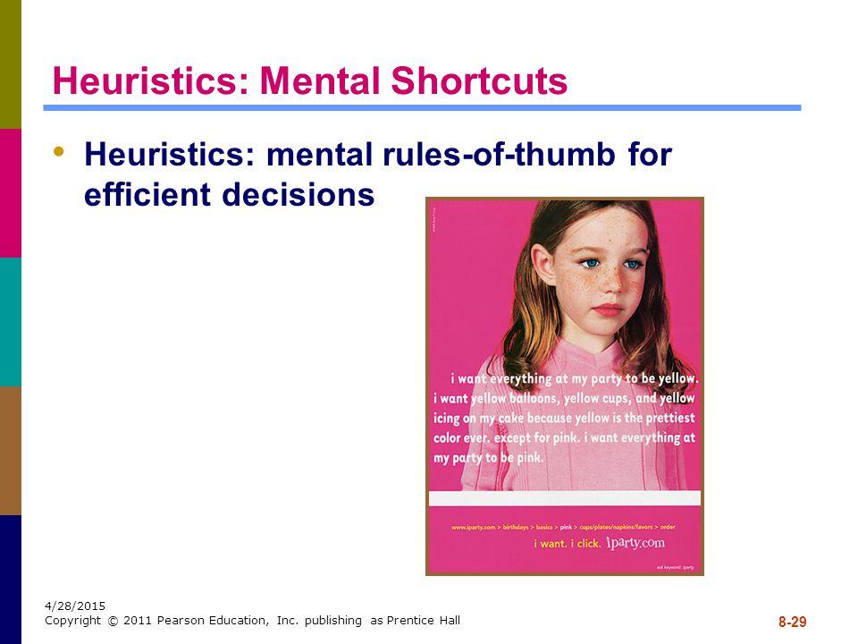 Heuristics: Mental Shortcuts