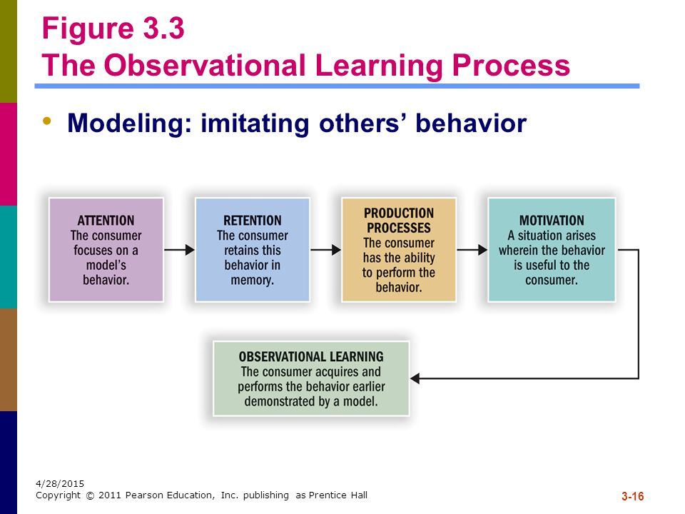 Figure 3.3 The Observational Learning Process