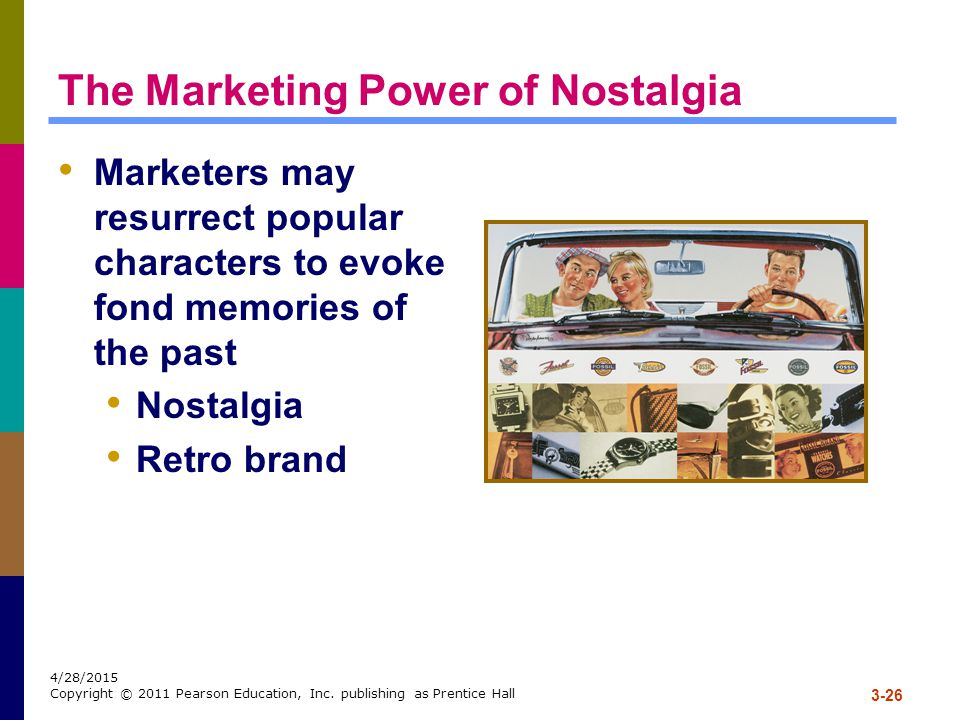 The Marketing Power of Nostalgia