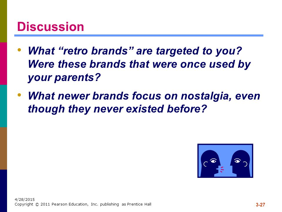 Discussion What retro brands are targeted to you Were these brands that were once used by your parents