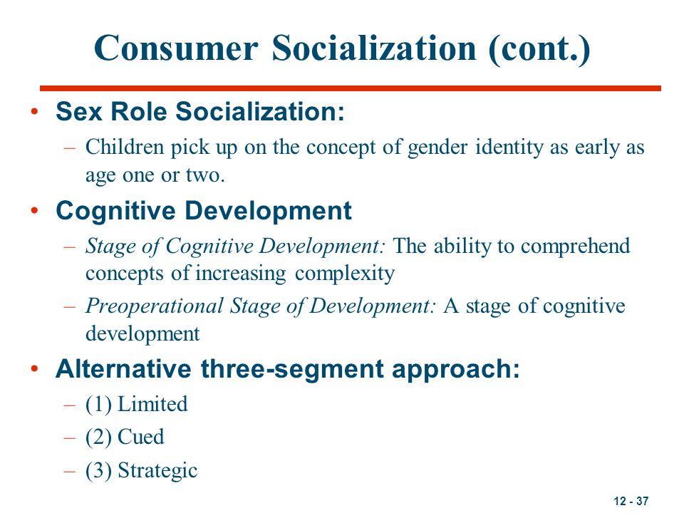 Consumer Socialization (cont.)