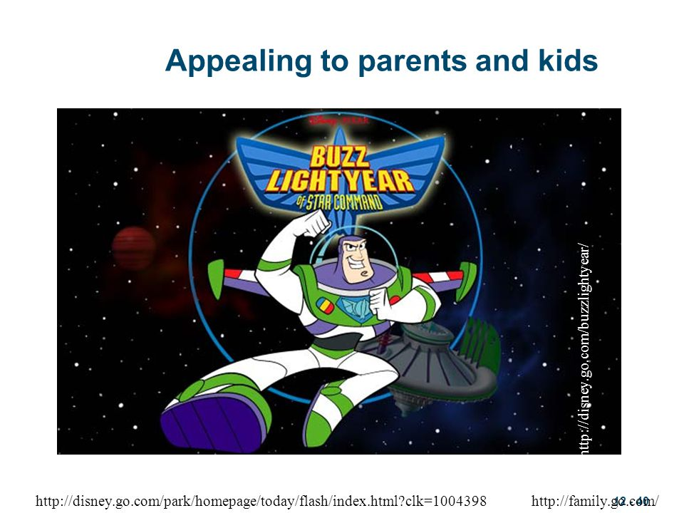 Appealing to parents and kids