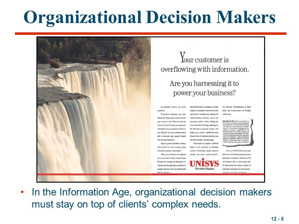 Organizational Decision Makers