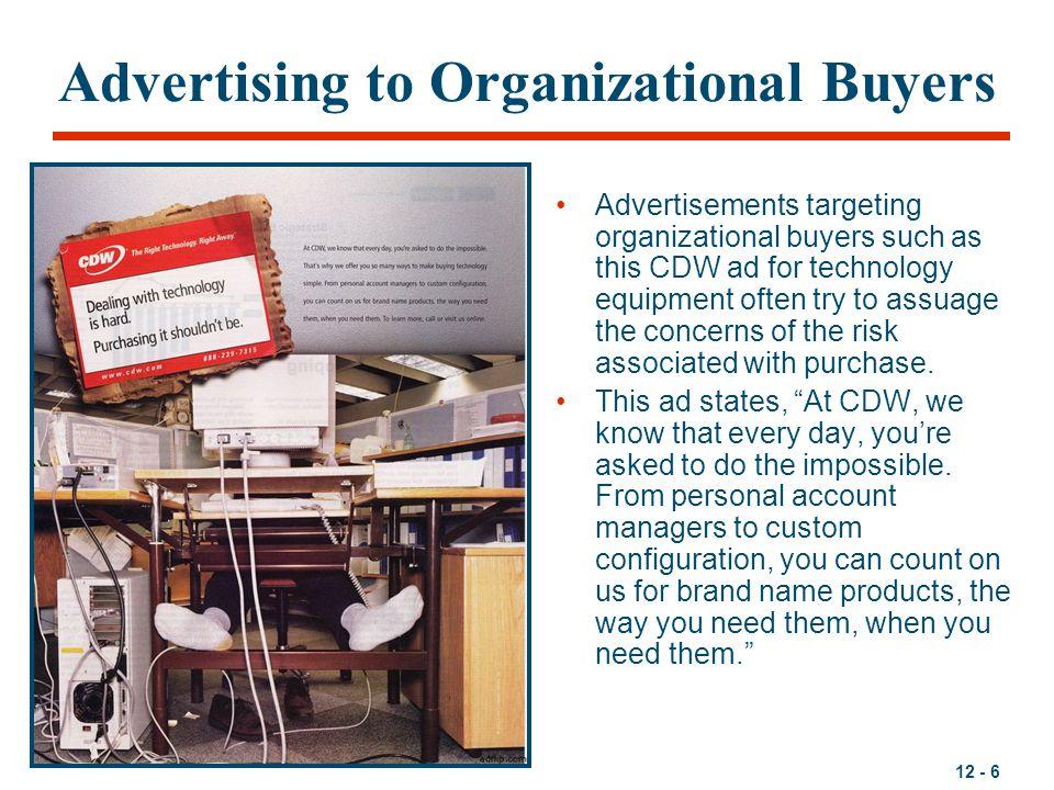 Advertising to Organizational Buyers