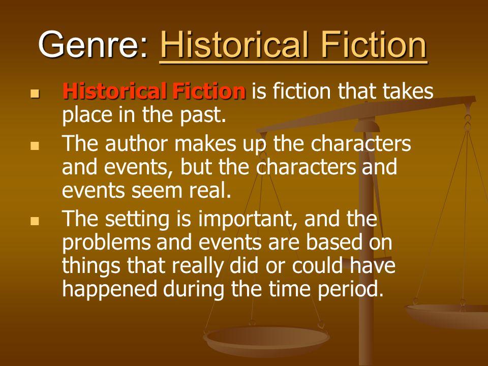 Genre: Historical Fiction
