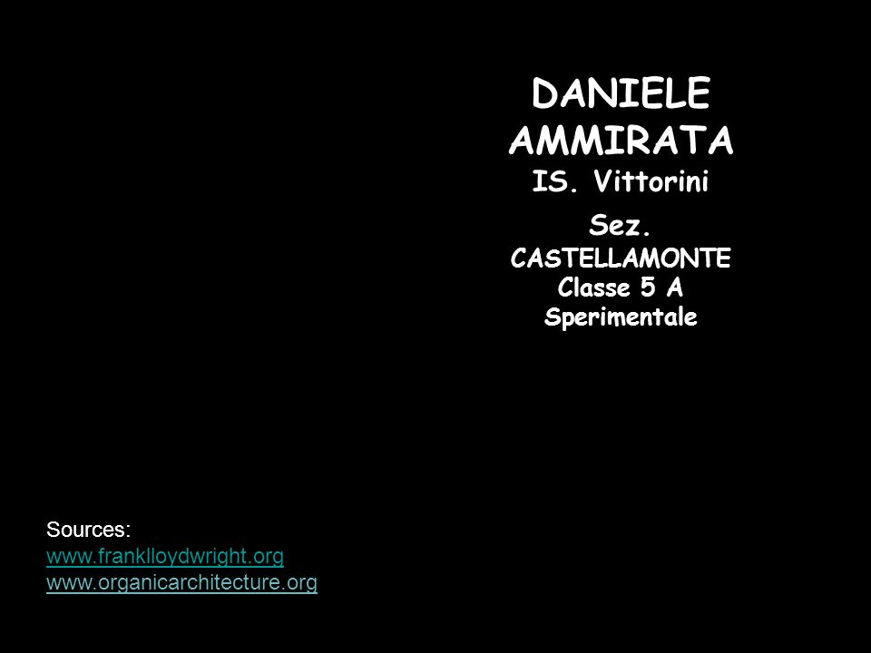 DANIELE AMMIRATA IS. Vittorini Sez. CASTELLAMONTE