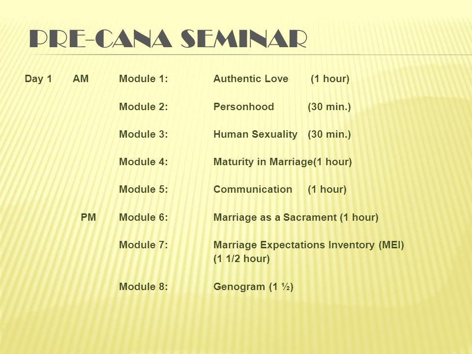 Pre-Cana Seminar