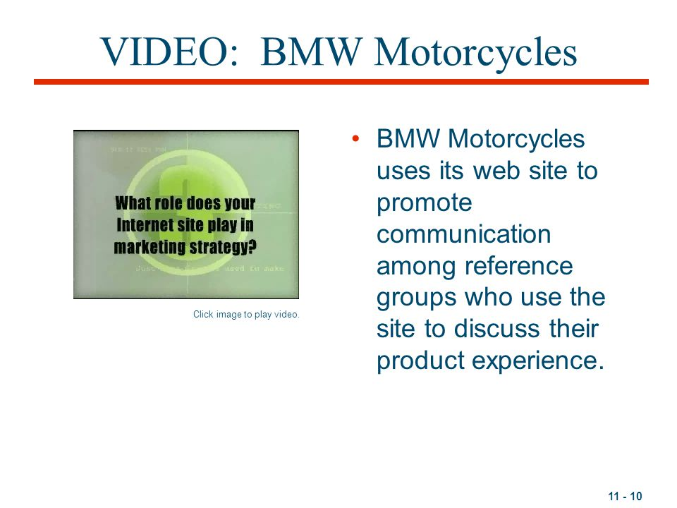 VIDEO: BMW Motorcycles