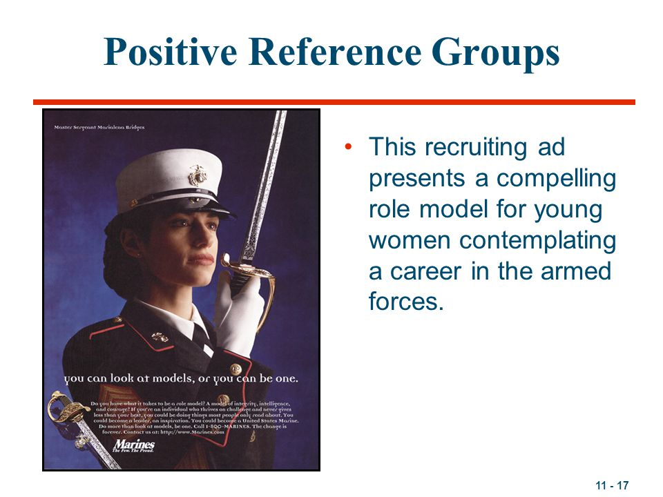 Positive Reference Groups