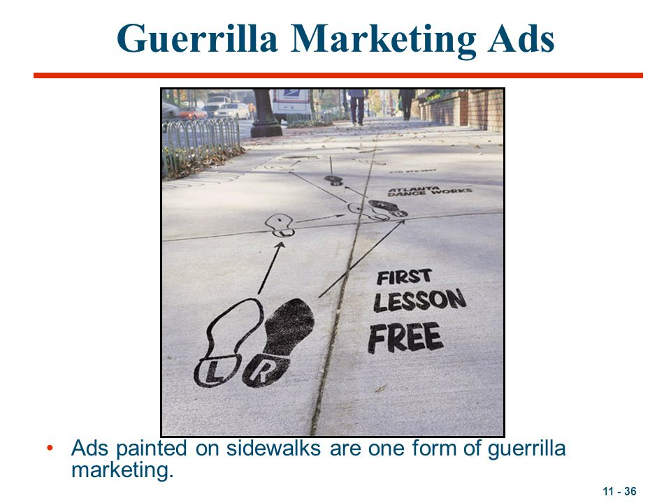 Guerrilla Marketing Ads