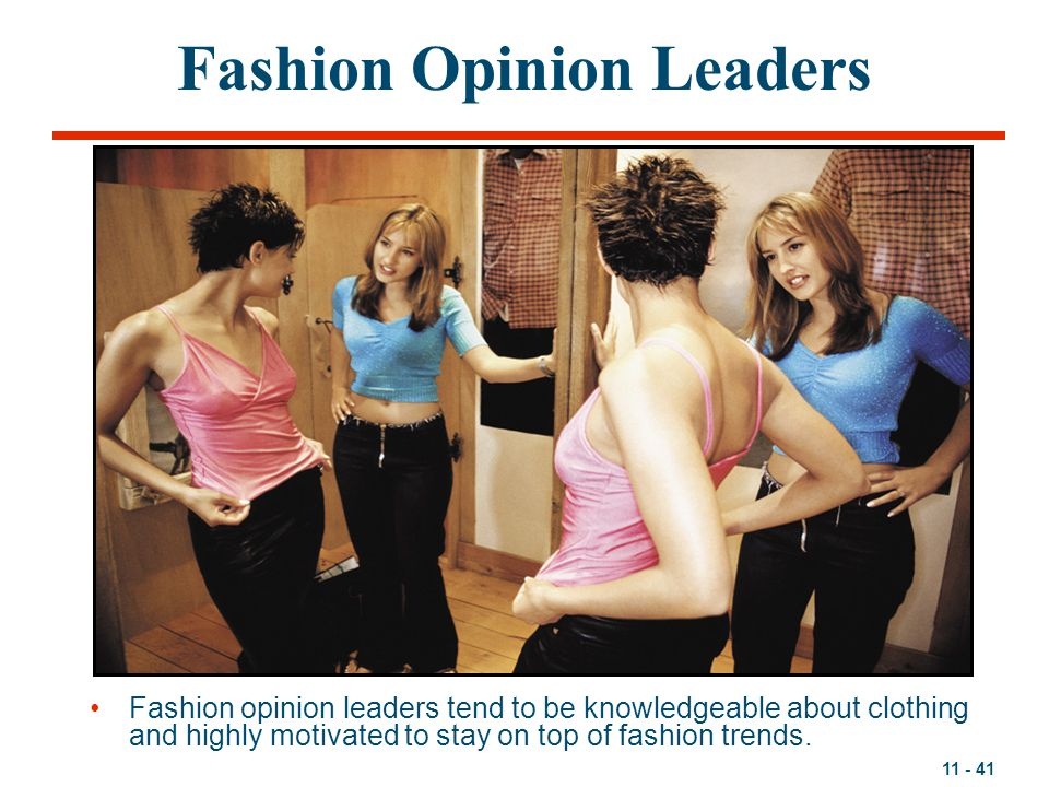 Fashion Opinion Leaders