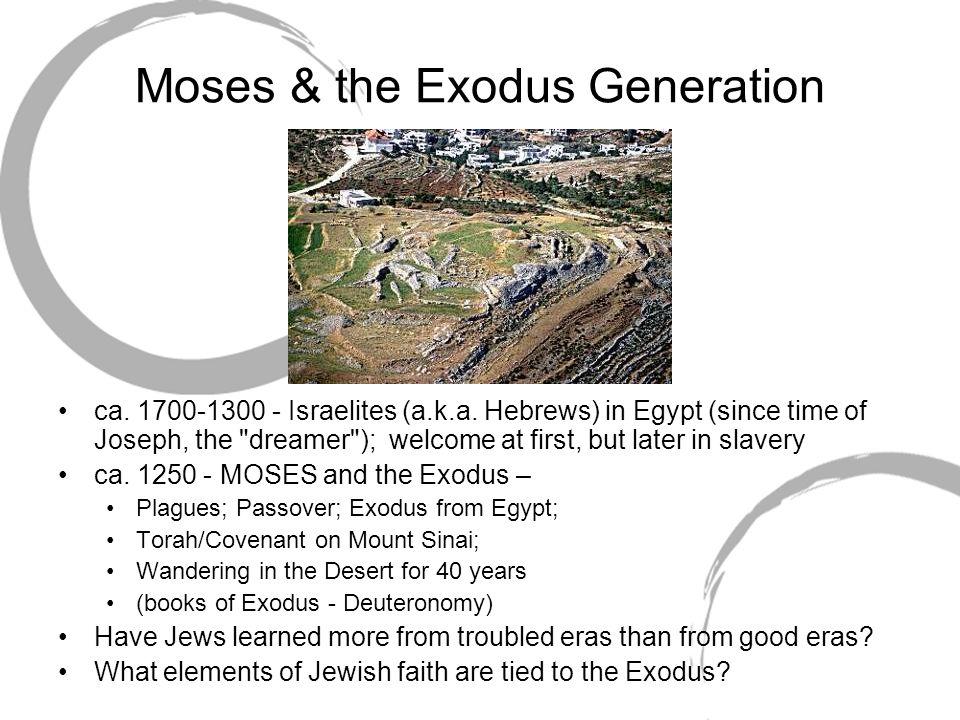 Moses & the Exodus Generation