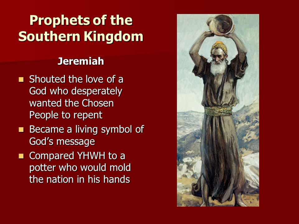 Prophets of the Southern Kingdom
