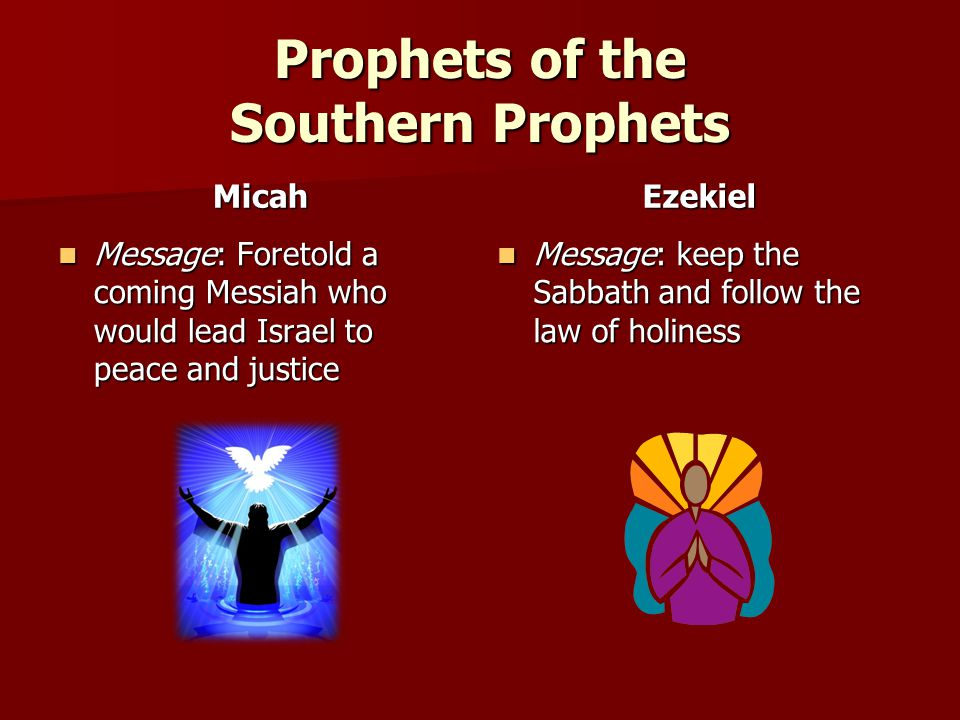 Prophets of the Southern Prophets