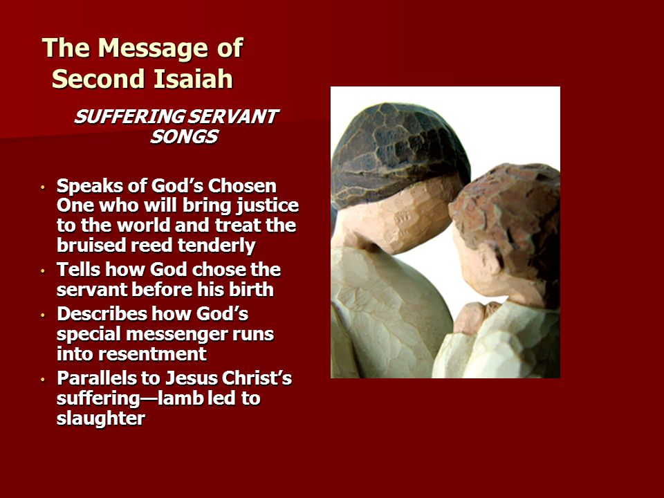 The Message of Second Isaiah