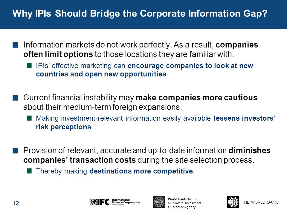 Why IPIs Should Bridge the Corporate Information Gap