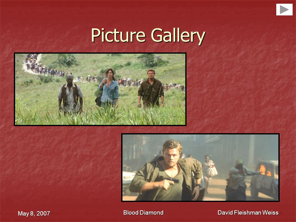Picture Gallery May 8, 2007 David Fleishman Weiss