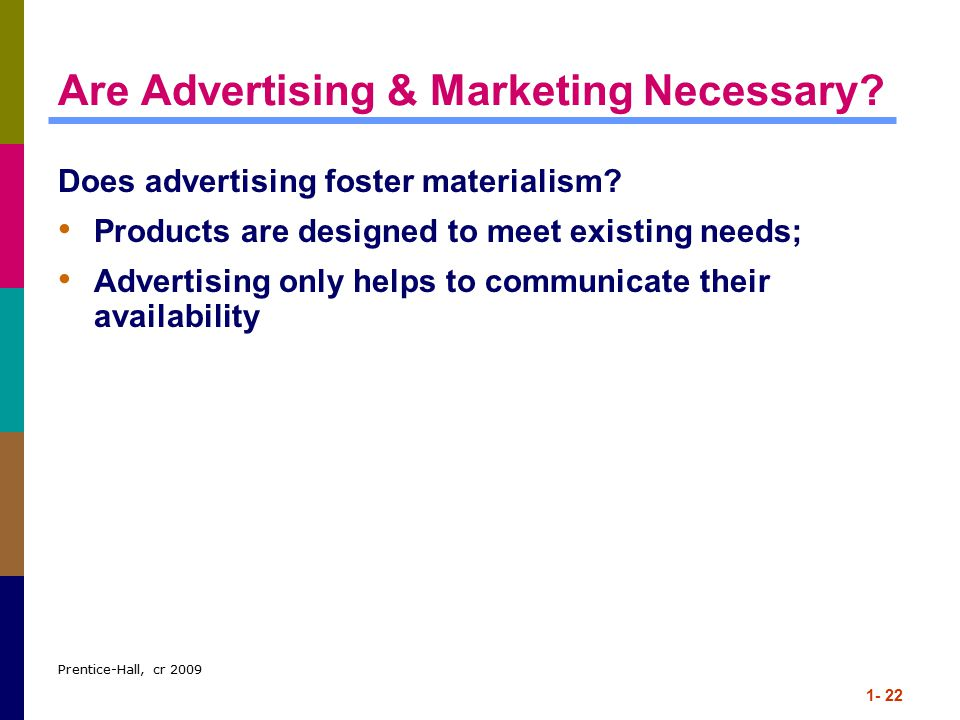 Are Advertising & Marketing Necessary