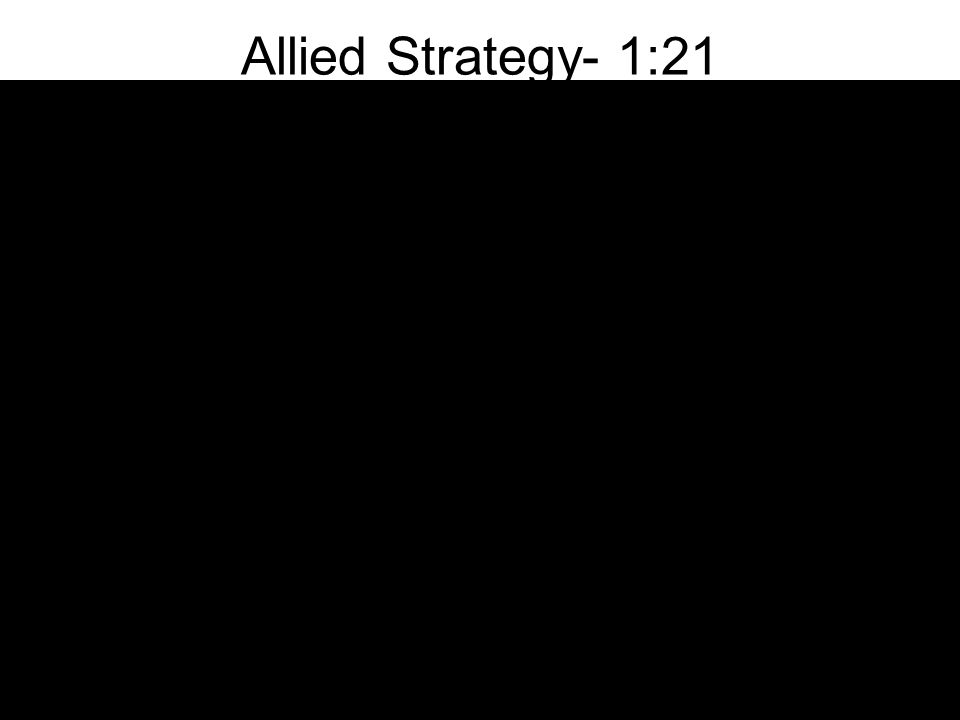 Allied Strategy- 1:21